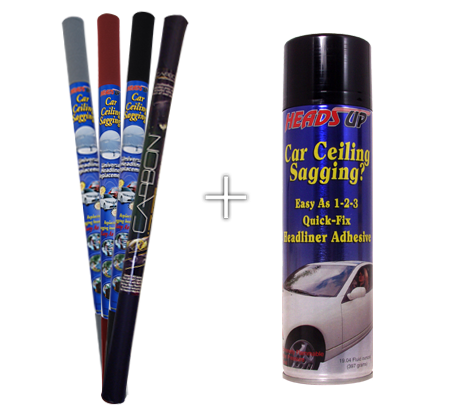 Headliner Repair Kit With Adhesive